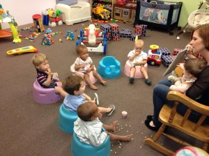 nursery bible lesson