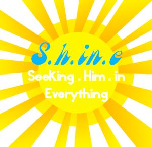 seeking him in everything